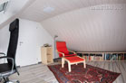 Modern möblierte und komplett klimatisierte Maisonette mit Balkon in Dormagen