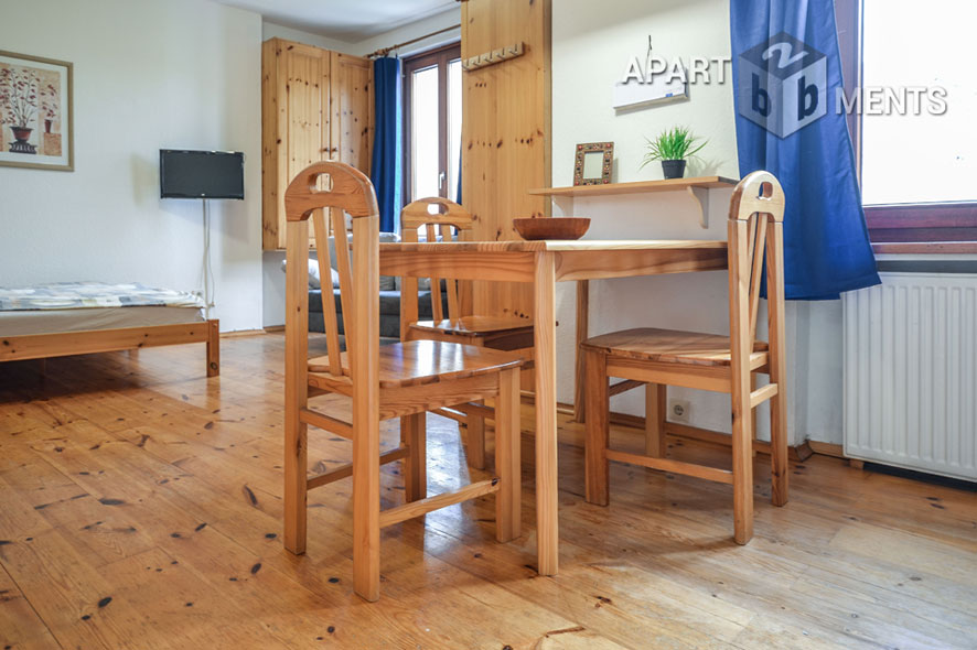 Gepflegt möbliertes Singleapartment in Bonner citynaher Altstadtlage