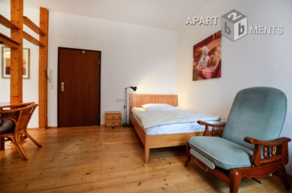 Neat furnished single apartment in Bonn near the city centre old town