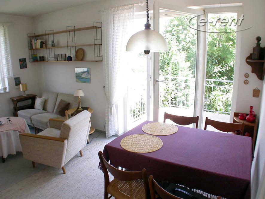 helle 2 Zimmer-Wohnung in ruhiger Lage