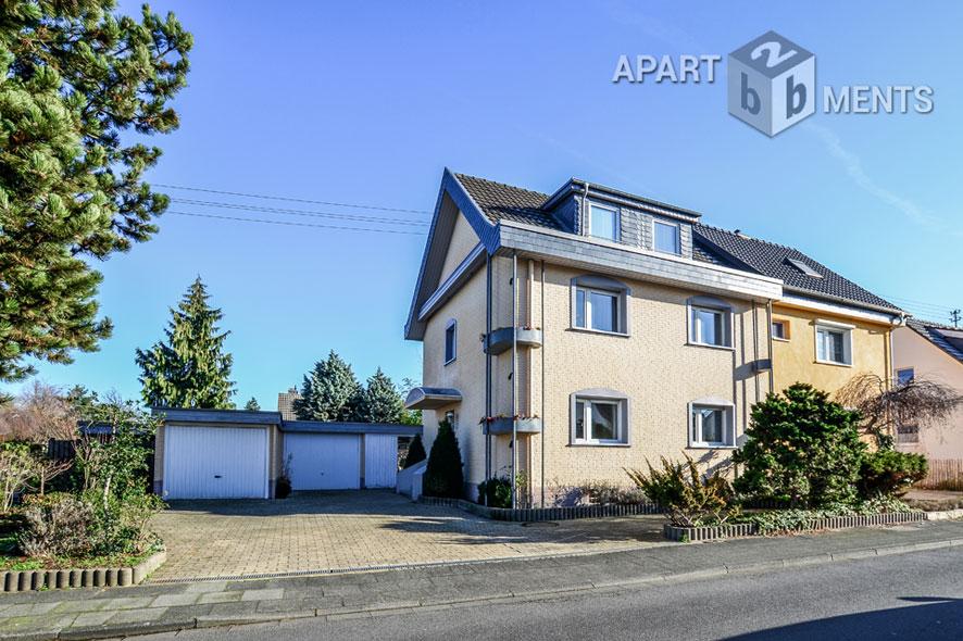 Gediegen möblierte Wohnung in ruhiger Lage von Bonn-Beuel