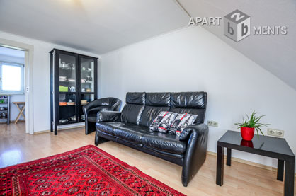 Dignified furnished apartment in quiet location of Bonn-Beuel