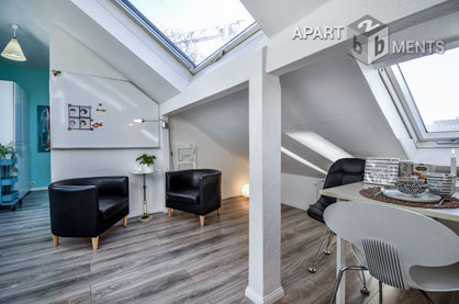 Modern möbliertes Single Apartment zentral in Bonn-Nordstadt