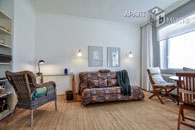 Furnished and bright apartment with balcony in central location of Bonn Südstadt