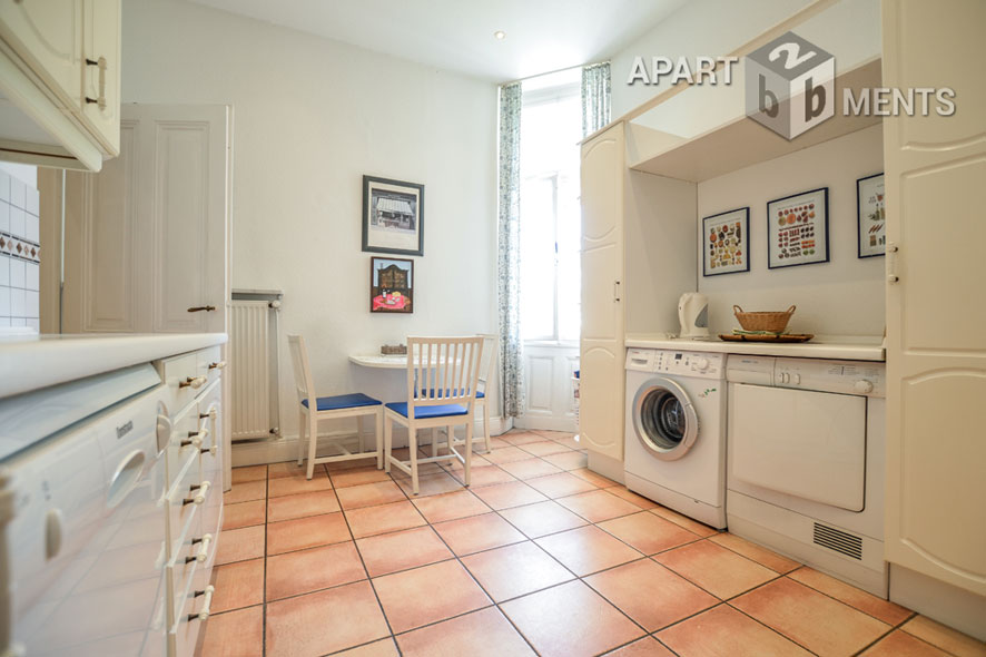 Elegant furnished apartment in a very central location in the southern town of Bonn