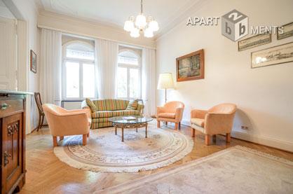 Elegant möblierte Wohnung in sehr zentraler Lage der Bonner Südstadt