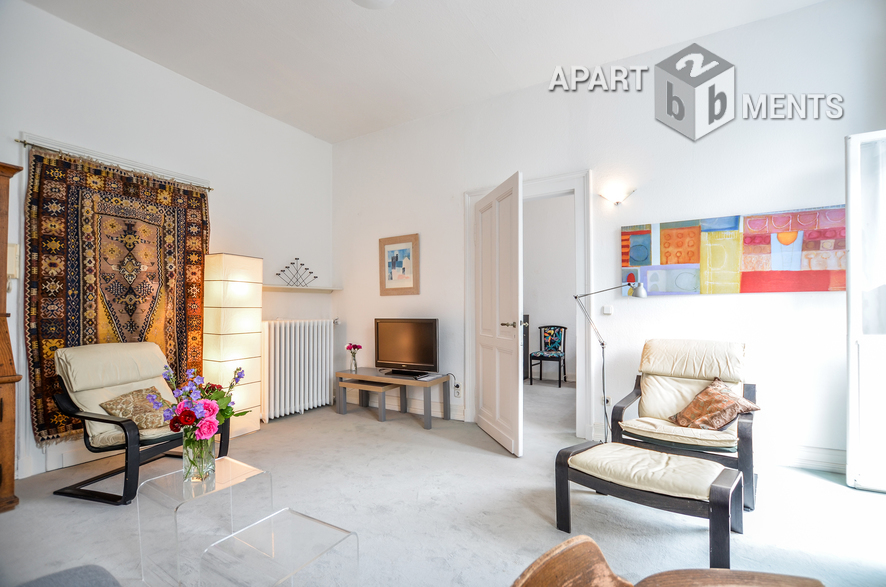 modern and neat furnished apartment in a fantastic location in the south of Bonn