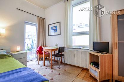 Modern möbliertes Apartment in Rheinnähe in Bonn-Rüngsdorf