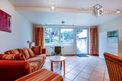 Chic and furnished apartment in quite and green location in Bonn-Kessenich