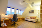 Furnished and well-kept attic apartment in central location of Bonn-Nordstadt