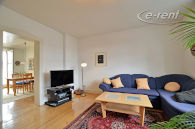 Furnished old building flat in central location in Bonn-Beuel-Mitte
