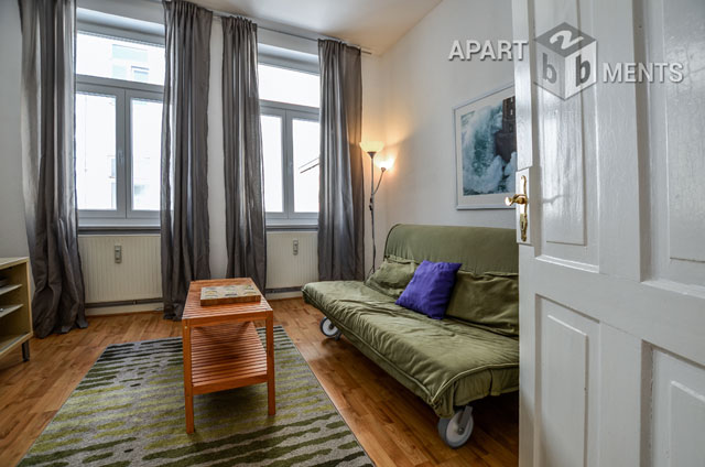 möblierte und helle Wohnung in zentraler Lage in Bonn-Nordstadt