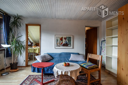 Functionally furnished single apartment in Sankt Augustin-Niederpleis