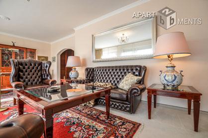 Elegant möblierte geräumige Wohnung in schöner Allee von Bonn-Dransdorf