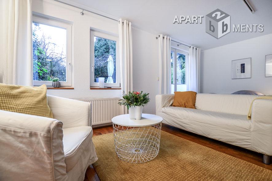 Möbliertes Cityapartment zentral und dennoch ruhig in Bonn-Weststadt