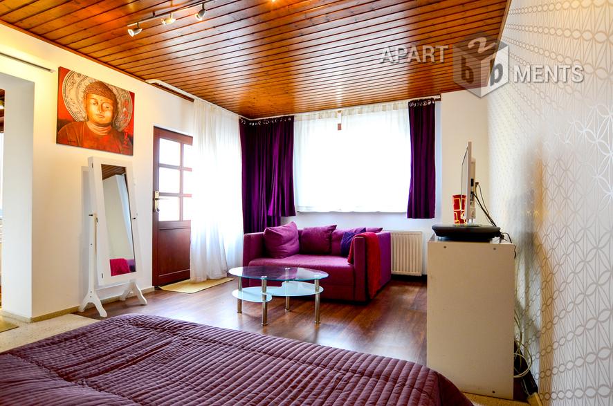 modern möblierte Wohnung in Bonn-Bad Godesberg/ Plittersdorf