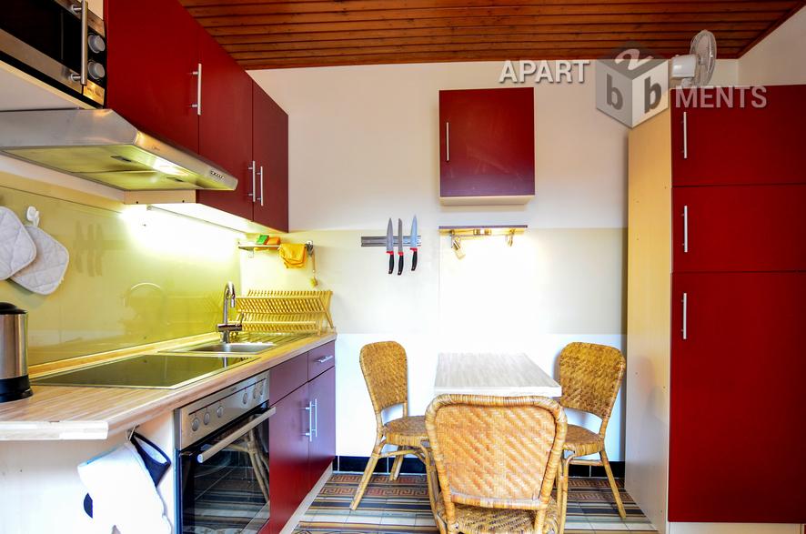 modern möblierte Wohnung mit Terrasse in Bonn-Plittersdorf