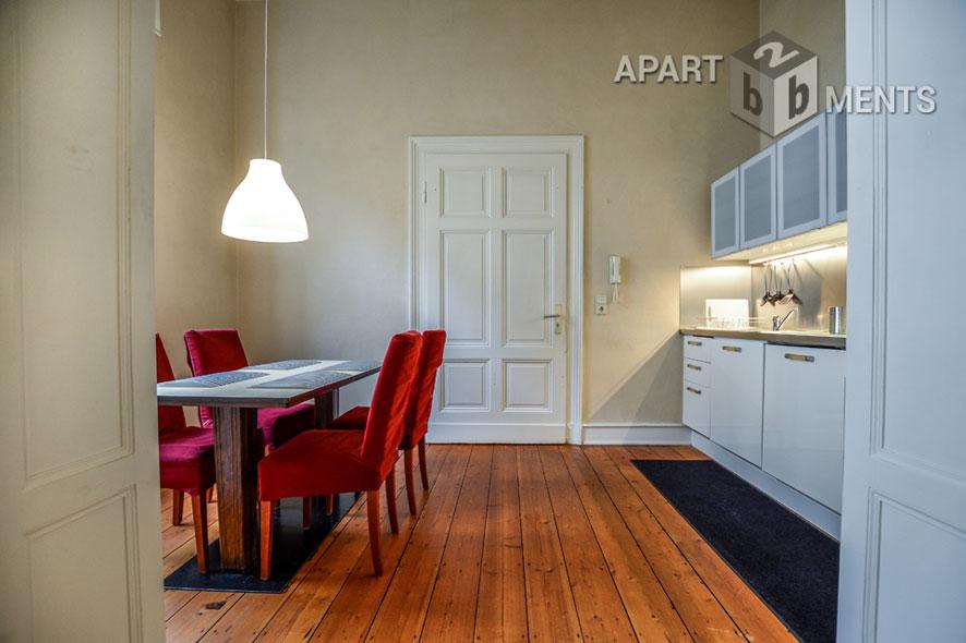 modern möblierte Altbauwohnung in bester Lage von Bonner-Gronau