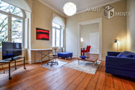 Modern furnished apartment in an old building in a prime location in Bonn-Gronau