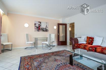 Hochwertig möblierte Wohnung in ruhiger Wohnlage von Bonn-Beuel