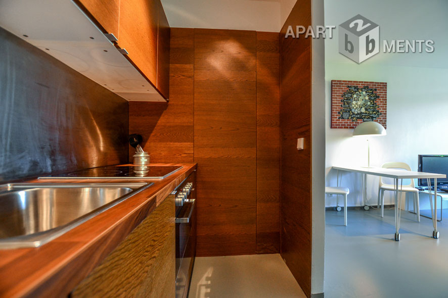 Möbliertes Apartment mit Balkon in sehr guter Lage von Bonn-Hochkreuz