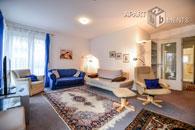 Hell möblierte Nichtraucherwohnung in Bonn-Castell