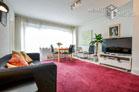 Top möblierte Wohnung in Bonn-Südstadt mit Blick auf den Reuterpark
