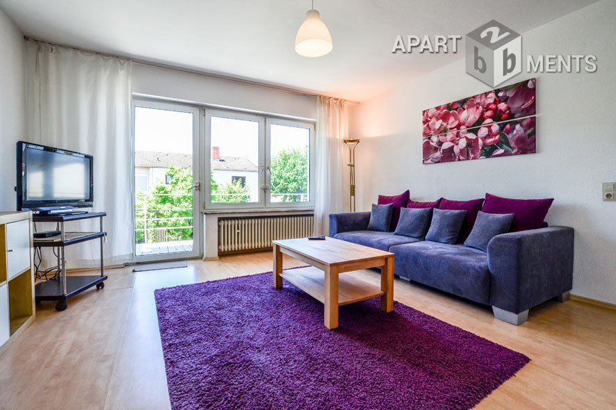 bright and spacious 3 room apartment in a quiet residential area - apartment-sharing community fit
