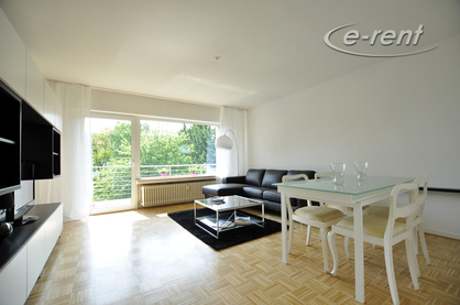 Modern furnished balcony apartment in Bonn-Beuel-Mitte