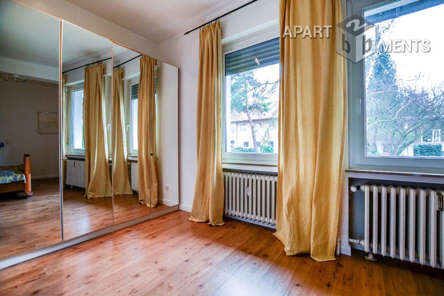 möblierte geräumige Dachterrassenwohnung in Bonn-Mehlem