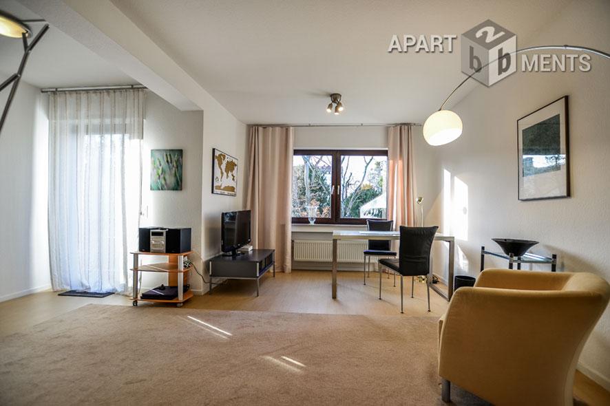 modern möblierte Balkonwohnung in Bonn-Kessenich/ Grenze Südstadt