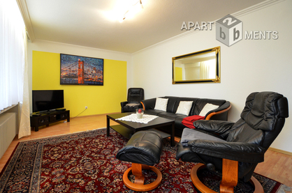High-quality furnished balcony apartment in quiet residential area of Bonn-Beuel