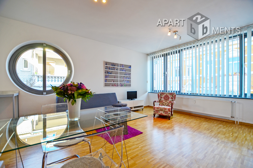modern möbliertes Apartment mit Schlafgalerie in der Südstadt von Bonn