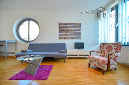 Modern furnished apartment with sleeping gallery in the south city of Bonn