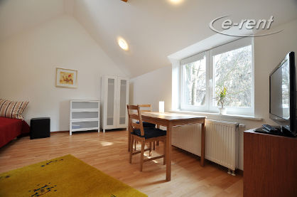 Furnished single apartment of the upscale category in Bonn-Plittersdorf
