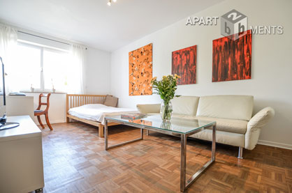 Modern furnished apartment with good city connection in Bonn Beuel-Mitte
