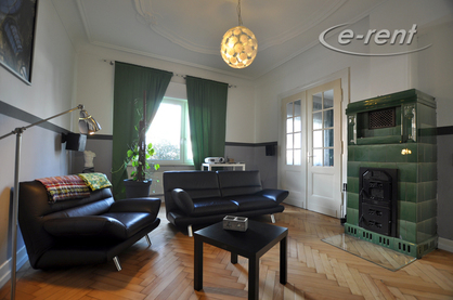 Neat furnished spacious old building apartment in Bonn-Kessenich