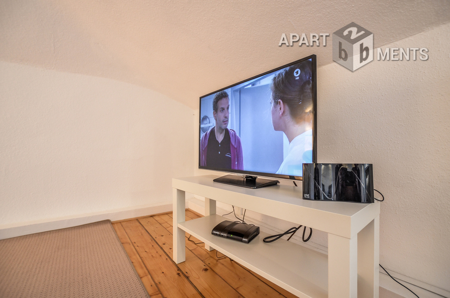 furnished penthouse apartment near main station in Bonn-Weststadt