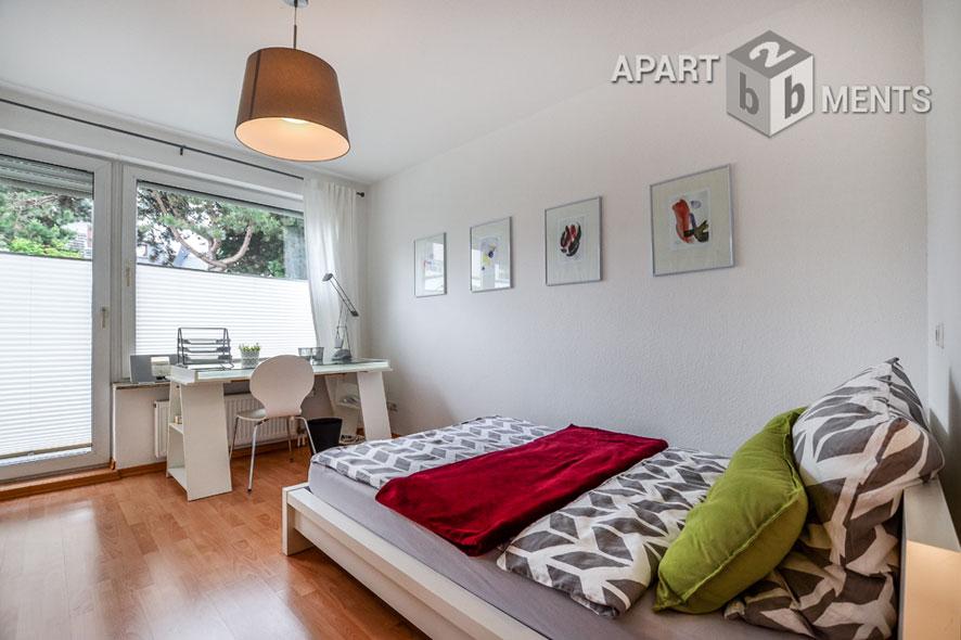 Modern möbliertes Singleapartment mit Balkon in Bonn-Kessenich
