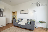 Modern furnished single apartment with balcony in Bonn-Kessenich