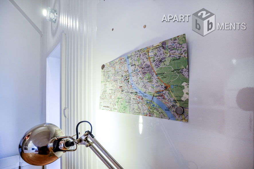 Charmant möblierte 2 Zimmereinheit in bester Bonner Südstadtlage