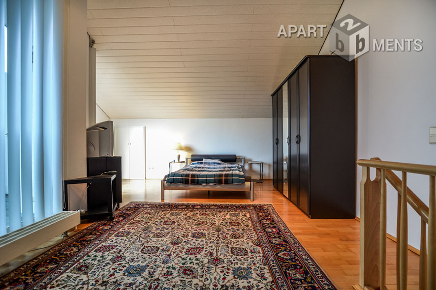 elegant möblierte Maisonette-Wohnung in Bonn-Holzlar-Roleber