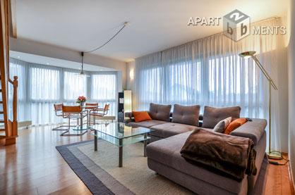 Elegant furnished maisonette apartment in Bonn-Holzlar-Roleber