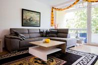 Möblierte und geräumige Wohnung in ruhiger Lage in Bonn-Heiderhof