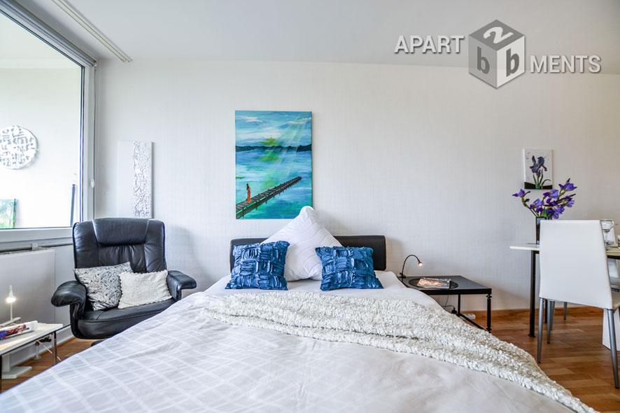 Möbliertes und helles Apartment mit Loggia in Bonn-Hochkreuz