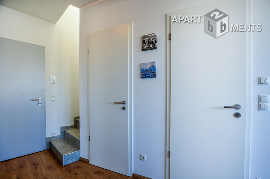 furnished maisonette of the top category in the Macke quarter of Bonn's Nordstadt district