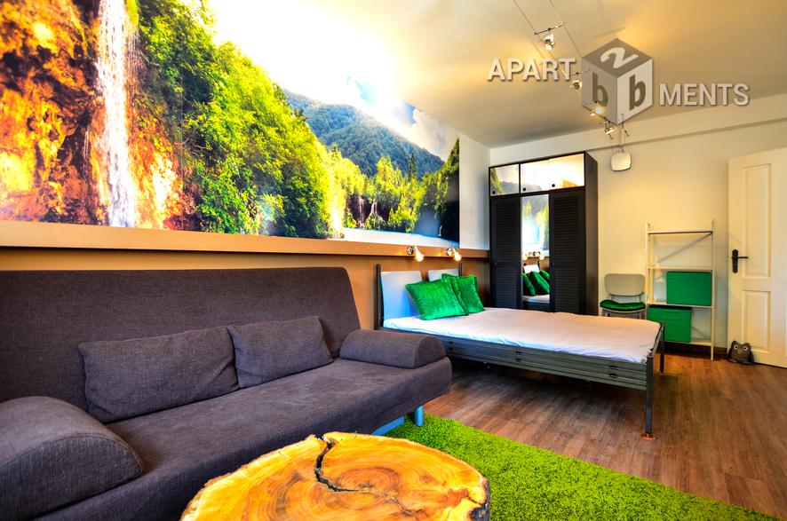 modern möblierte Wohnung in Bonn-Plittersdorf