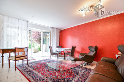 High-quality furnished apartment in Bonn-Lengsdorf