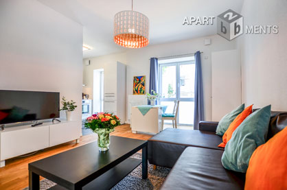 Modern furnished project apartment in a good residential area in Bonn-Alt-Godesberg