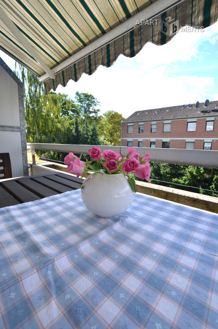 furnished and  families or apartment-sharing community suitable flat in Bonn-Plittersdorf